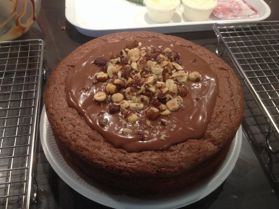 Northcote Cookery School: Gianduja cake
