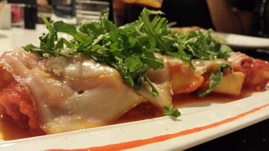 Rucola & Grana: Uno de los platos de la carta: buena presentación y gran sabor.