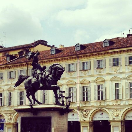 Piazza San Carlo: Caval 'd brons