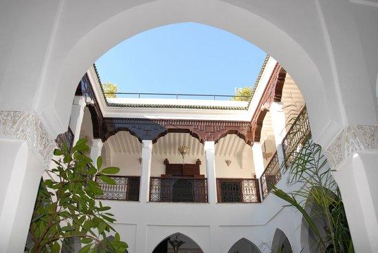 Riad Nasreen : Vue Patio