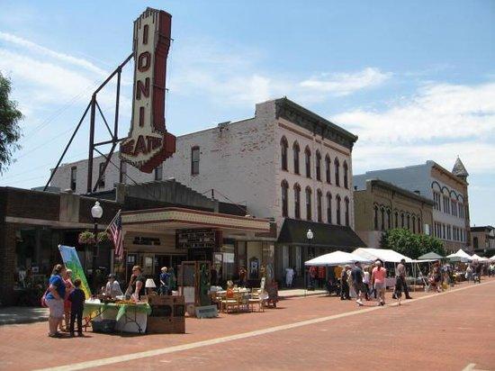 Historic Downtown Main Street: Ionia Theater on Main Street