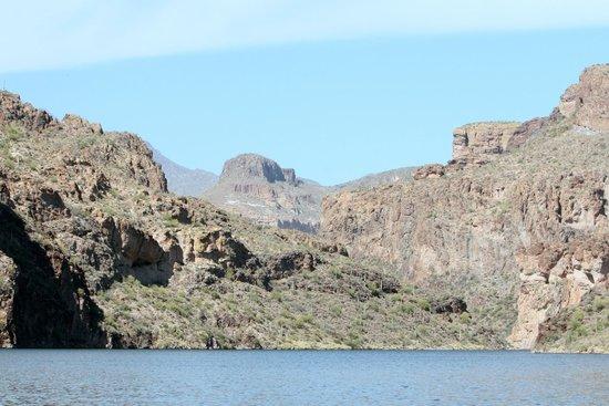 Canyon Lake - View of the Mountains