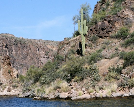 Canyon Lake - View from the Water