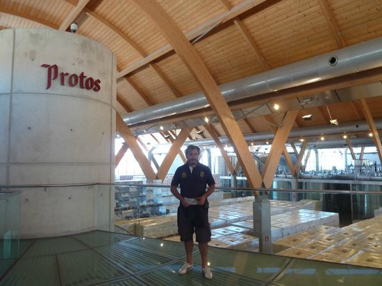 Bodegas Protos : Final de la visita
