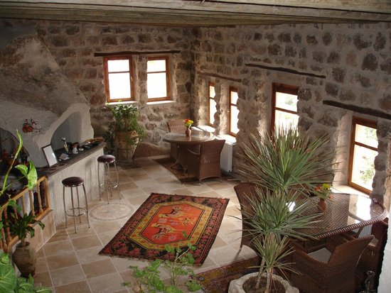 Cappadocia Akkoy Evleri Caves : Lobby&Bar