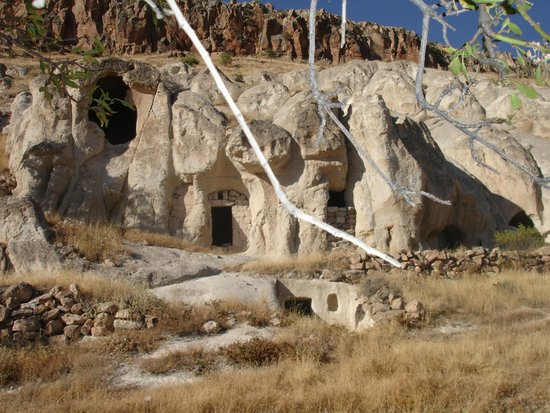 Cappadocia Akkoy Evleri Caves : Church