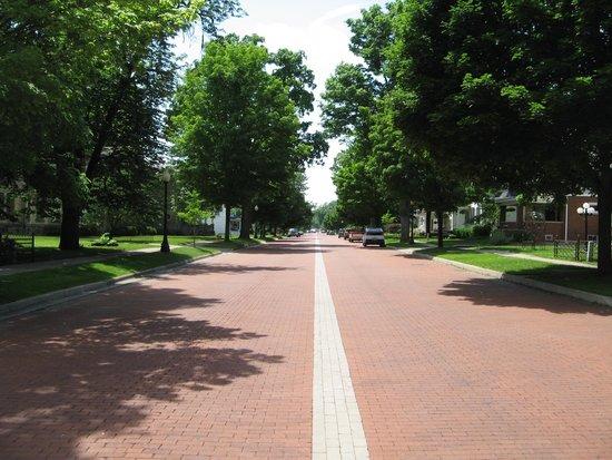 Historic Downtown Main Street: Main Street Bricks