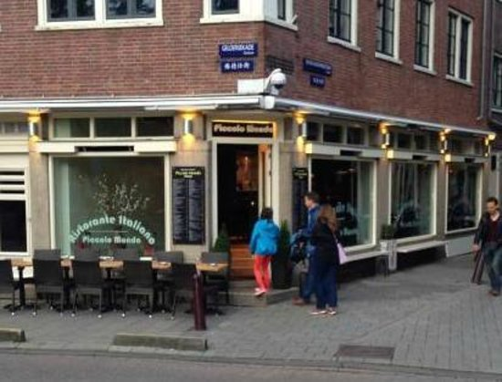 Restaurant Piccolo Mondo Amsterdam: Zie www..restaurantpiccolomondo.nl