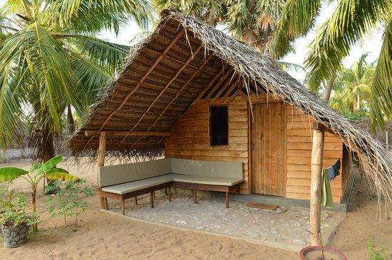 Ruuk Village: Cabana, Veranda