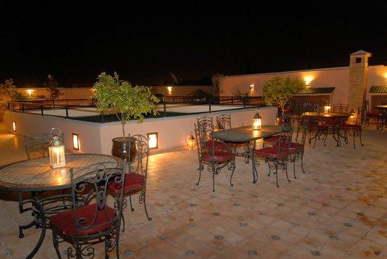 Riad Nasreen: Terrasse