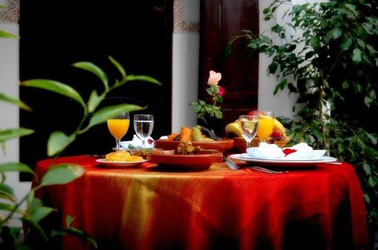 Riad Nasreen: Restaurant