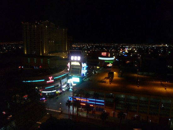 The D Casino Hotel Las Vegas: View