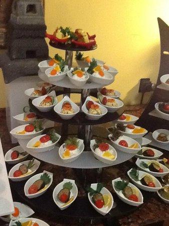 IC Hotels Green Palace: Каждое блюдо оформлено!