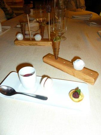 Da Caino: Part of the dessert course.