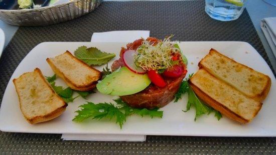 Sauco: Amazing tuna tartare