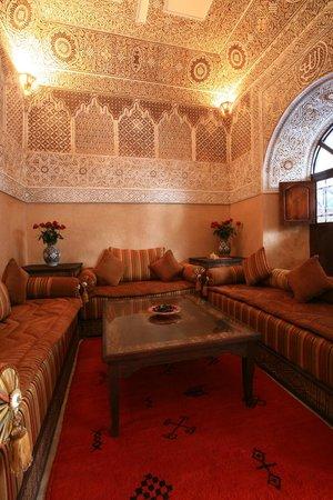 Riad Nasreen : Salon Marocain