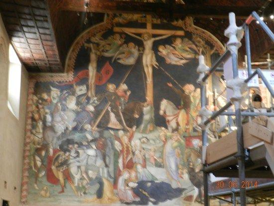 Oratorio di San Giovanni Battista : Crocifissione Flli Salimbeni