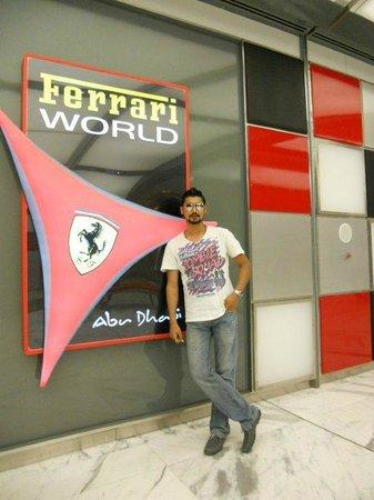 Ferrari World Abu Dhabi: Yeayyy Its ME
