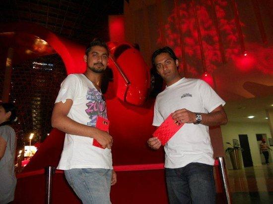 Ferrari World Abu Dhabi: ME & Shahzad