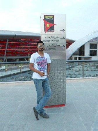 Ferrari World Abu Dhabi: Again Me