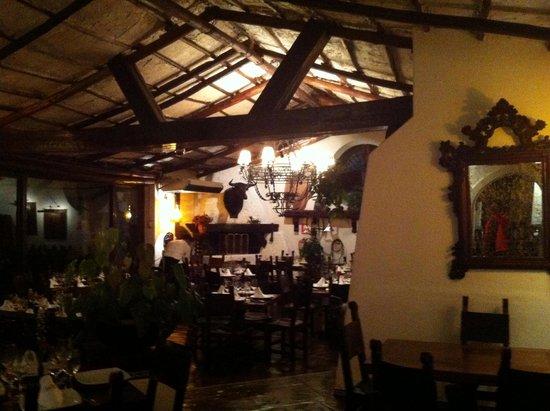Jose Antonio : la salle du restaurant