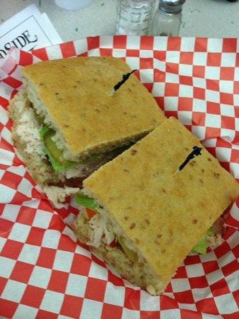 Woodside Bakery : turkey sandwich! yummy!