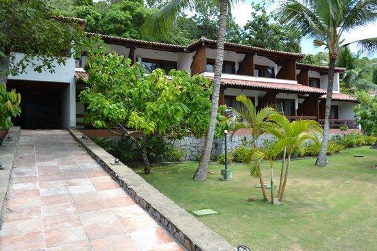 Porto Seguro Praia Resort: Suites - Laterais Frente Recepção.