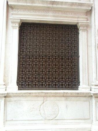 Ca' Furlan: Church window