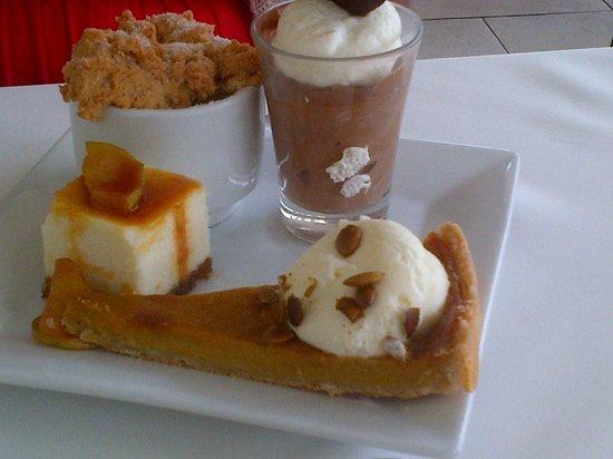 Chaud : Desserts
