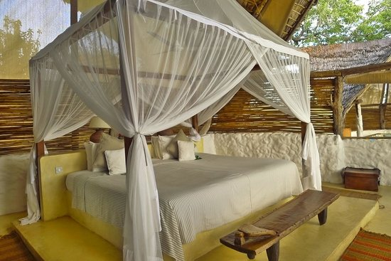 Sand Rivers Selous, Nomad Tanzania: Picture of our gorgeous suite