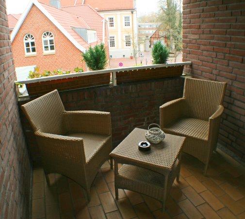 Kolpinghaus Hotel-Restaurant: Hotelbalkon