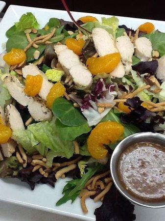 Twin Peaks Coffee & Donuts: fresh salads...