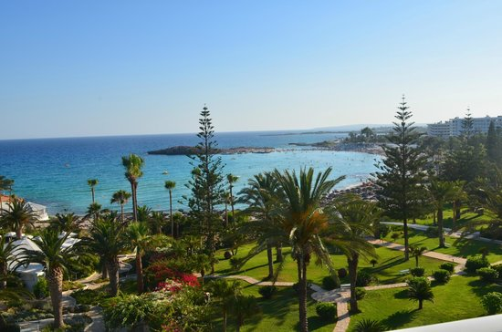 Nissi Beach Resort : View from room 406