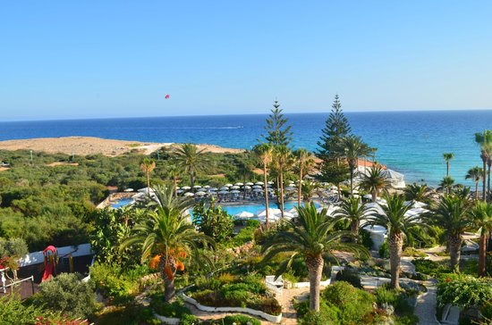 Nissi Beach Resort: View from room 406
