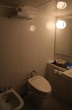 Kyoto Royal Hotel & Spa : Baño limpio