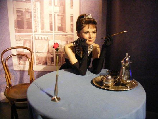 Madame Tussauds London: Un petit café avec Audrey ?