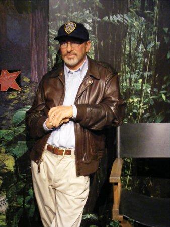 Madame Tussauds London: Et Spielberg qui se la coule douce...