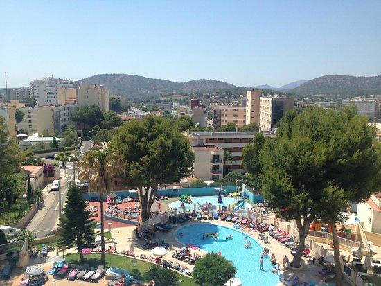AluaSun Torrenova: Balcony view