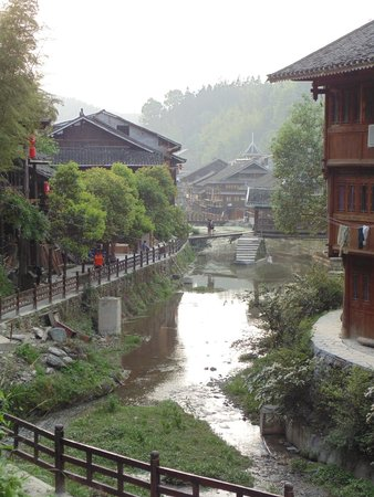 Zhaoxing Xishe Hotel: View from Xishe Hotel