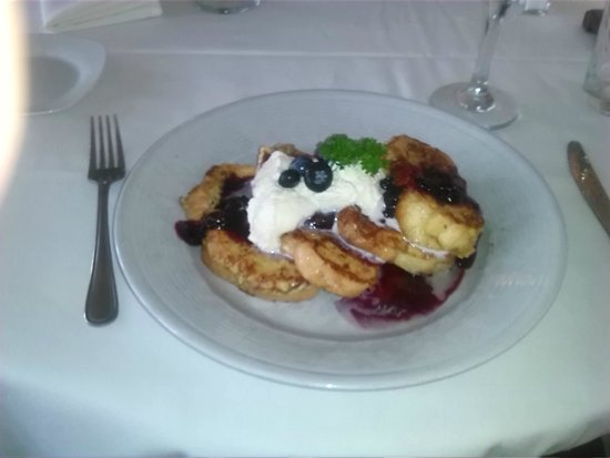 Cherubina Ristorante: Blueberry french toast