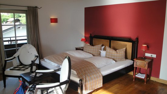 Seehotel Luitpold: Large and nice bed