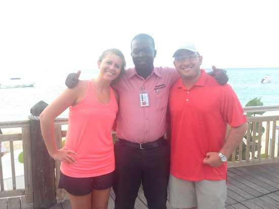 Beaches Ocho Rios Resort & Golf Club: Our good friend Leighton! One of the sweetest and helpful people I have ever met!