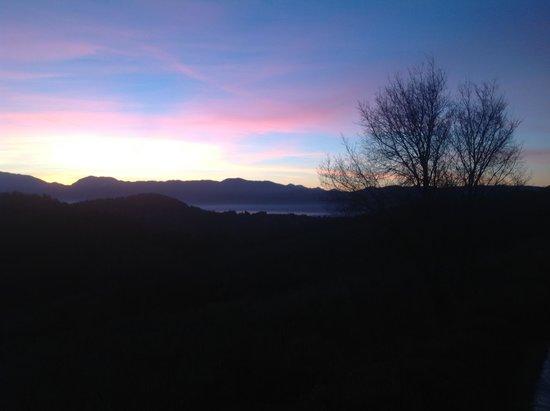 Agriturismo Santa Caterina : tramonto