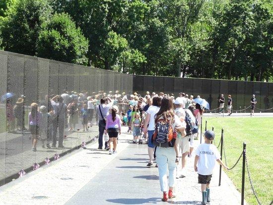 Explanada Nacional: Vietnam Veterans Memorial.