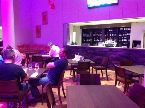 Four Points by Sheraton Perth: A cafe at best, and expensive.