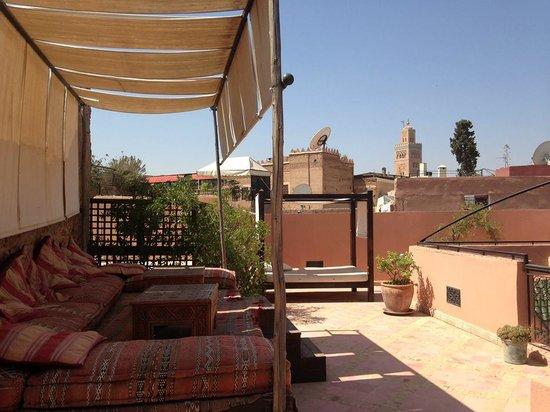 Riad Al Rimal: Relax area