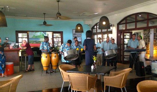 Bel Jou Hotel : Local School entertaining us