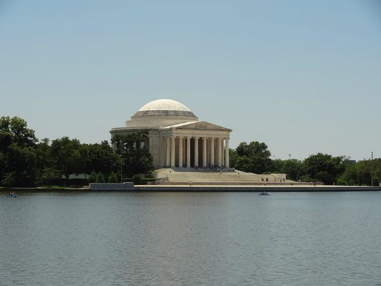 Explanada Nacional: Thomas Jefferson Memorial.