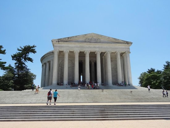 National Mall: Thomas Jefferson Memorial.