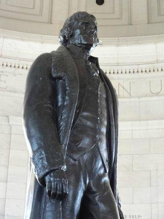 Explanada Nacional: Thomas Jefferson Memorial.